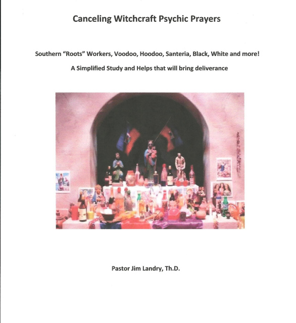 Canceling Witchcraft Psychic Prayers 2014